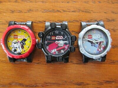 3 Lego Disney STAR WARS  Build-able Watches