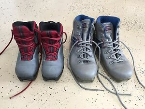 Women's x-country ski boots - Size 5 & 10