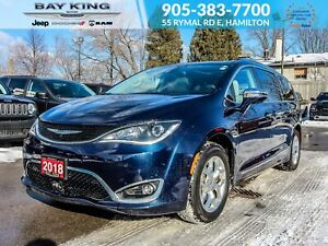 2018 Chrysler Pacifica 360 VIEW CAM, PARK ASSIST, HEATED SEATS,