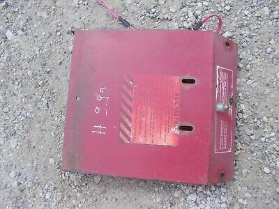 International Farmall 656 Hyd Tractor Battery Cover Panel Hard To Find
