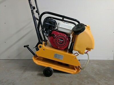 Hoc Hc90 17 Inch Plate Compactor Honda Gx160 5.5 Hp Water Wheel Kit Warranty