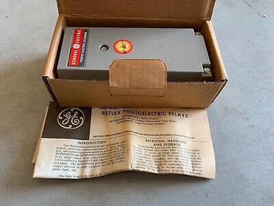Ge 3s7505ps510f6 Reflex Photoelectric Relay Nos