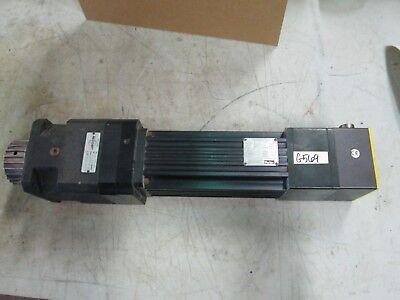 Parker Brushless Servo Motor W Neugart Belt Drive J0823he-nmsb Used