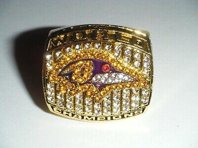 World Champions 2000 BALTIMORE RAVENS Football Super Bowl XXXV Replica Ring  Baltimore Ravens Super Bowl Champions