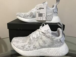 Grey/white NMD R2 womens size 5.5 (fits actual s6-7)