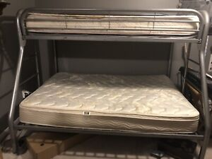 Metal Bunkbed and Mattresses