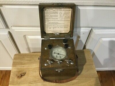 C. 1916 Antique General Electric Induction Test Meter