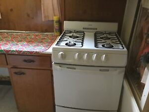 Gas stove apartment size. Rare find!  $250.