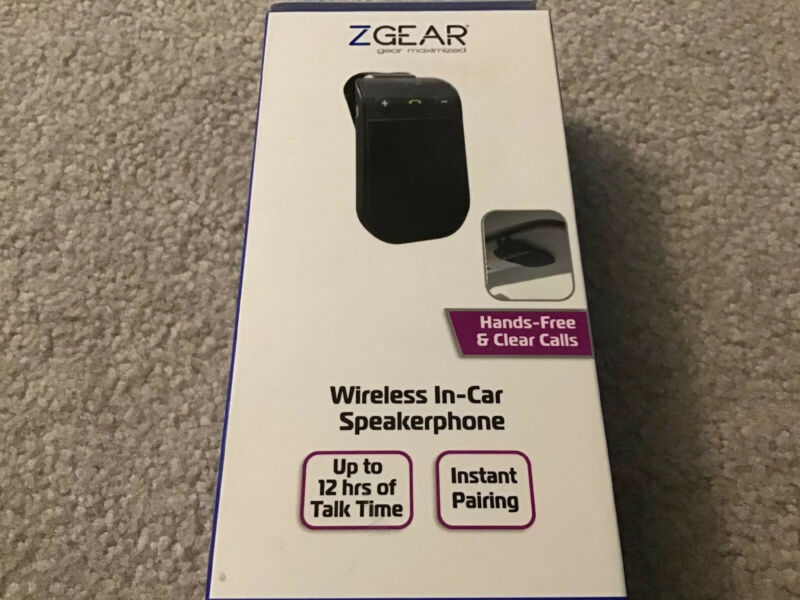Wireless Bluetooth In-Car Speakerphone Z Gear