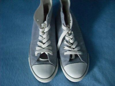 graue Sneaker Damenschuhe Mädchenschuhe Sportschuhe knöchelhohe Schuhe Gr. 38