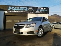 2012 Chevrolet Cruze AMAZING ON FUEL Kamloops British Columbia Preview