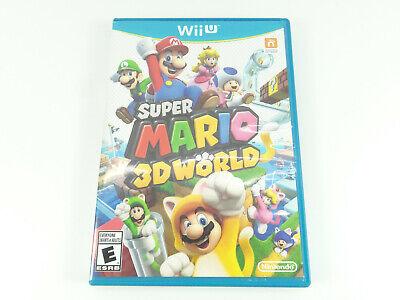 Super Mario 3D World (Nintendo Wii U, 2013) TESTED COMPLETE
