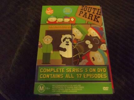 SOUTHPARK SERIES 3 & 4  BOX SETS
