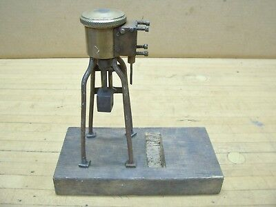 Lunkenheimer No. 1 Brass Grease Greaser Cup Hit Miss Steam Engine