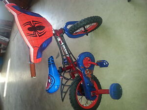 12 inch spiderman bicycle