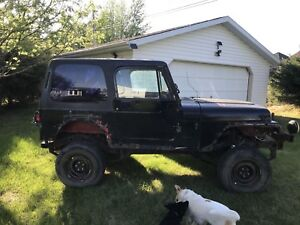 Parting out 91 Jeep YJ wrangler
