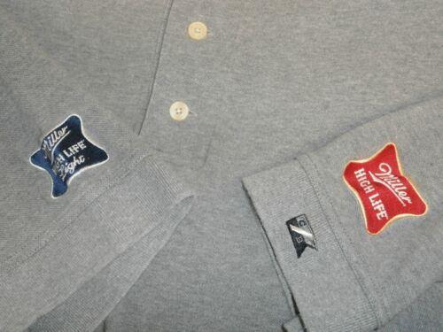 MILLER BREWING HIGH LIFE XL 100% Cotton Cutter & Buck S/S Polo Shirt -FAST SHIP-