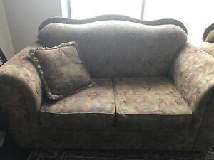 Three Piece Couch with Pillows