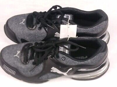NEW PUMA Women's Cell Riaz Black Gray Cross Trainer Athletic Running Shoe SIZE 7