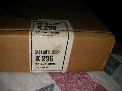 Gast Mfg Corp K-296 Vacuum Pump Repair Kit. New Open Box All Parts Included