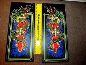 Centipede Arcade Cabinet Side Art Bartop Tabletop Video Game Graphics Stickers