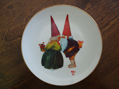GNOME BLISS - Collector Plate 1979 by Rien Poortvliet