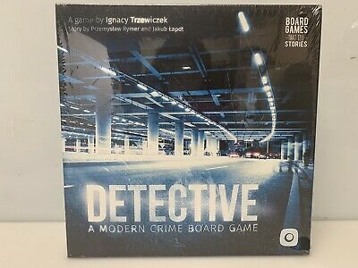 Detective Modern Crime Interactive Mystery Board Game Portal Games Crime Mystery Game