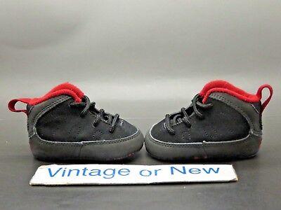 2ee697709d0f Nike Air Jordan IX 9 Charcoal Crib Infant Toddler 2010 Retro 401843-005 sz  1C