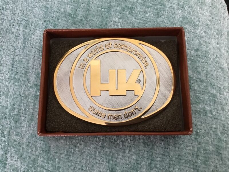 HK HECKLER & KOCH 1986 Belt Buckle