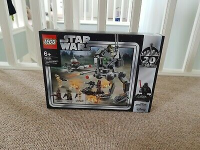 Lego Star Wars 75261 20th Anniversary Edition Clone Scout Walker lot 2