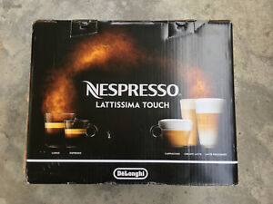 NESPRESSO LATTISSIMA TOUCH BY DELONGHI BRAND NEW
