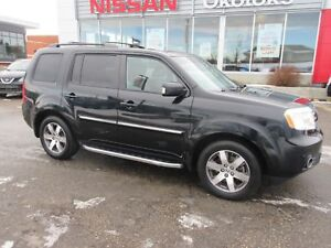 2013 Honda Pilot Touring 4x4, 8 PASSENGER, HEATED LEATHER