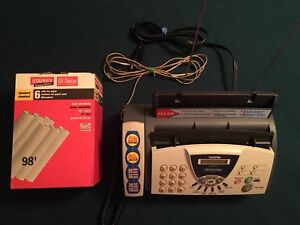 3-in-1.  Fax /  Copier / Telephone Brother FAX575