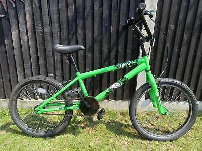"X-Rated Flair BMX Bike - 20"" Wheel, unisex, lime green"