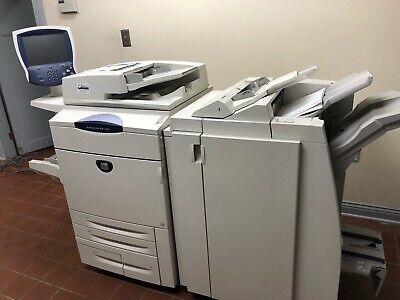 Xerox Docucolor 260 Digital Laser Print Scan Dtx Finisher Erb Fiery 697k