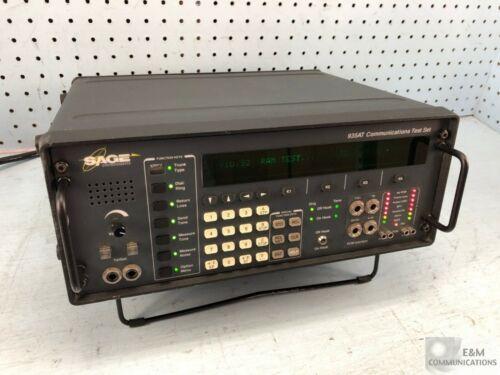 935AT SAGE INSTRUMENTS COMMUNICATION TEST SET