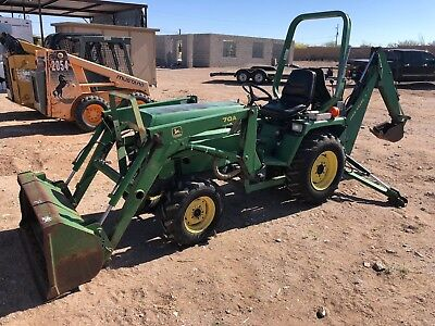 1998 John Deere 855 Tractor Loader Backhoe