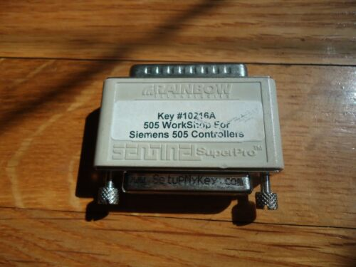 Hardware key for FasTrak Softworks - 505 Workshop for Siemens PLC