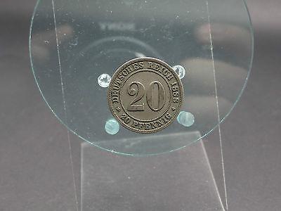 20 Pfennig 1888 F Deutsches Reich (291115)