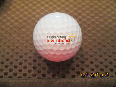 Logo Golf Ball Brighter Days Invitational Presented By Concur  Cvs Health Logo