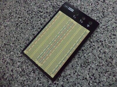 Jameco Valuepro 1660-point Solderless Breadboard 6.5lx4.3w