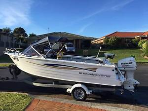 Stacer 525 Seamaster Sports 2003 Evinrude 90hp Warabrook Newcastle Area Preview