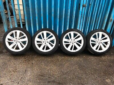 "Vauxhall Astra J / K 18"" Alloy Wheels / Tyres 225/45/18  5x105** H401 ** Genuine"