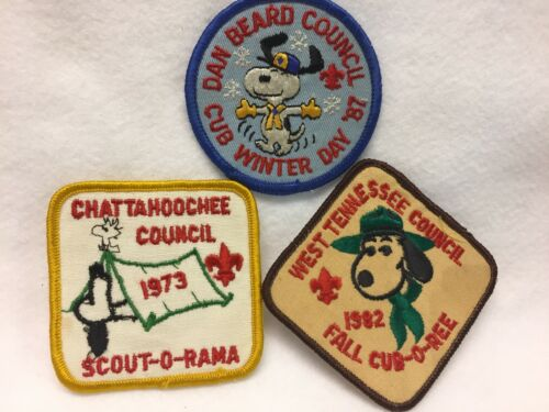Boy Scouts -  SNOOPY patch lot # 1