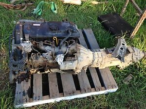 2.8 Desiel engine, G52 Gearbox, Exhaust Woongarrah Wyong Area Preview