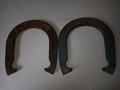 Cast Iron Clydesdale Horseshoe Pitching Game