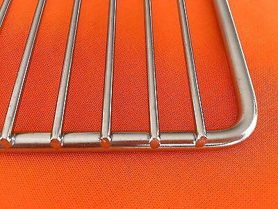 Grillrost  54x34cm Edelstahlgrillrost Rost aus Edelstahl   ROBUST&langlebig