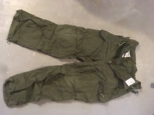 Canadian Army Wind Pants