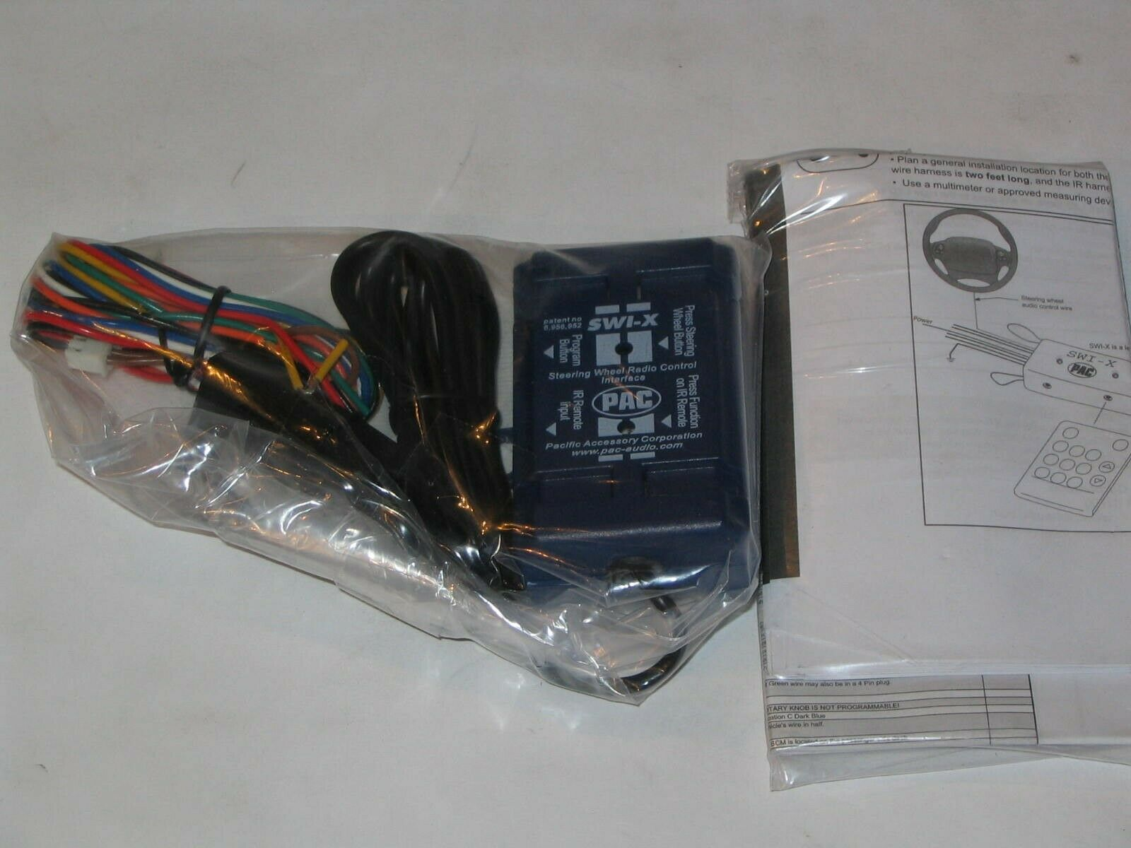 PAC Universal Steering Wheel Control Interface Adapter