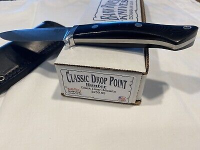Bark River fixed blade knife Classic Drop Point Used But Unused